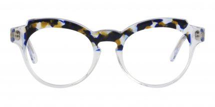 Occhiale Da Vista Filo Colore Trasparente E Tartaruga Nera