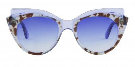 Occhiale da sole Pat colore trasparente
